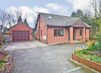 Thumbnail 4 bed detached bungalow for sale in Sandon Road, Cresswell