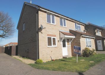 Thumbnail 3 bedroom semi-detached house to rent in Pretty Drive, Scole, Diss