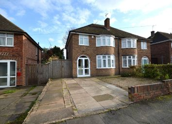 Thumbnail 3 bed semi-detached house for sale in Bramcote Road, Wigston, Leicester