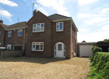 Thumbnail 3 bed detached house for sale in Money Bank, Wisbech