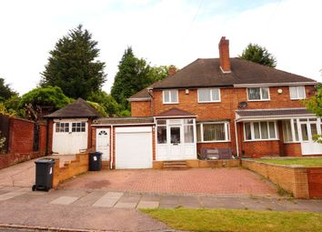Thumbnail 4 bed semi-detached house to rent in Hudson Road, Handsworth Wood, Birmingham