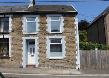 Thumbnail 3 bed end terrace house to rent in Vicarage Terrace, Treorchy