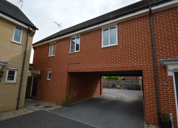 Thumbnail 1 bed end terrace house to rent in Roberts Close, Kesgrave, Ipswich