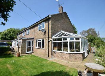 Thumbnail 4 bed semi-detached house for sale in Chapel Road, Fillingham, Gainsborough