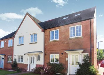 Thumbnail 4 bed end terrace house for sale in Bluebell Close, Ramsey St. Marys, Huntingdon