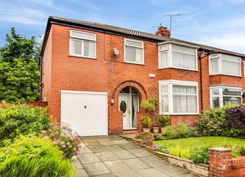 Thumbnail 5 bedroom semi-detached house for sale in Kingsway, Worsley, Manchester