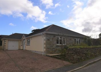 Thumbnail 4 bedroom detached bungalow for sale in School Lane, Redruth