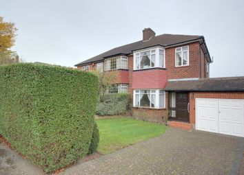 Thumbnail 3 bed semi-detached house for sale in Greystoke Gardens, Enfield