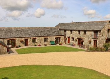 Thumbnail 4 bed barn conversion for sale in Penhellick, Nr St Wenn