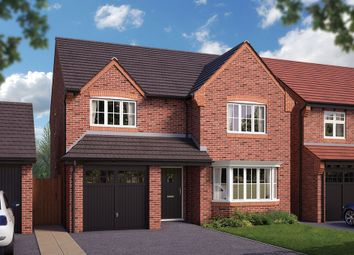 "Thumbnail 4 bed property for sale in ""The Durham"" at Pear Tree Meadows, Queen's Drive, Cheshire, Nantwich"