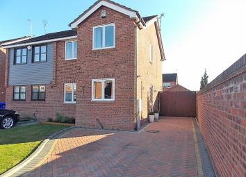 Thumbnail 3 bed semi-detached house for sale in Wittering Close, Long Eaton, Nottingham