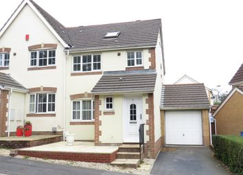 Thumbnail 4 bed semi-detached house for sale in Marshals Field, Ivybridge