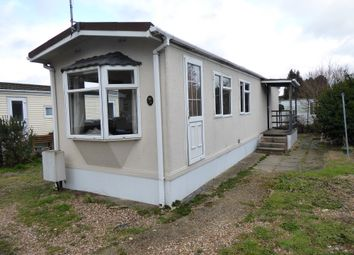 Thumbnail 2 bed mobile/park home for sale in Hatch Park, London Road, Old Basing, Basingstoke, Hampshire