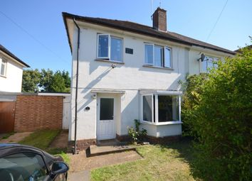 Thumbnail 3 bed semi-detached house for sale in Friars Avenue, Delapre, Northampton