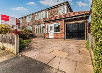 Thumbnail 3 bed semi-detached house for sale in Newcroft Crescent, Urmston, Manchester, Greater Manchester
