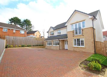 Thumbnail 5 bed detached house for sale in Ernest Wynd, Motherwell