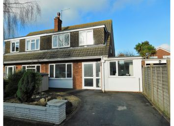 Thumbnail 4 bed semi-detached house for sale in Fittleworth Close, Worthing