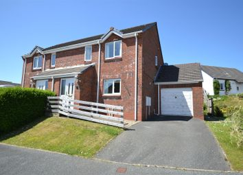 Thumbnail 3 bedroom semi-detached house for sale in Beechlands Park, Haverfordwest