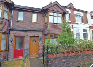 Thumbnail 3 bedroom town house for sale in Frederick Avenue, Hartshill, Stoke-On-Trent