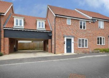 Thumbnail 4 bed semi-detached house for sale in Vanguard Chase, The Hampdens, New Costessey, Norwich