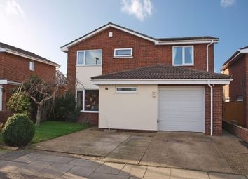 Thumbnail 4 bedroom detached house for sale in Redwing Drive, Bradwell, Great Yarmouth
