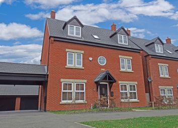 Thumbnail 5 bedroom detached house for sale in Saxon Drive, Rothley, Leicester