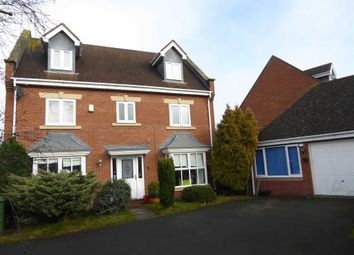 Thumbnail 5 bed detached house for sale in Lady Grey Avenue, Heathcote, Warwick