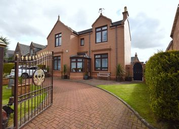 Thumbnail 4 bedroom detached house for sale in Croftbank Crescent, Uddingston, Glasgow