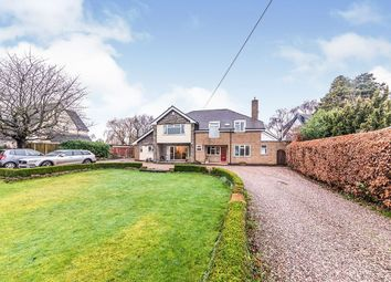 Eccleshall Road, Great Bridgeford, Stafford ST18. 4 bed detached house for sale