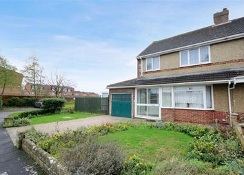 Thumbnail 3 bed semi-detached house for sale in Donnington Grove, Lawn, Swindon