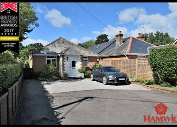 Thumbnail 4 bed detached bungalow for sale in Winsor Lane, Winsor