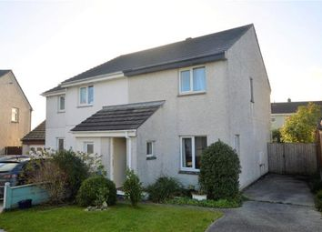Thumbnail 2 bed semi-detached house for sale in Tremenheere Avenue, Helston, Cornwall