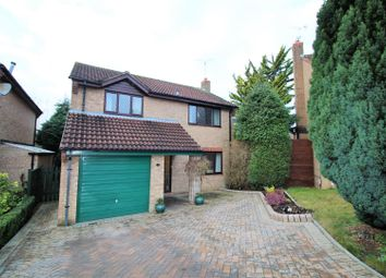 Thumbnail 4 bed detached house for sale in Shropshire Close, Ramleaze, Swindon
