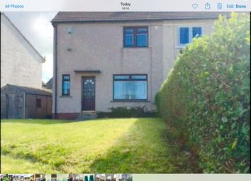 Thumbnail 3 bed semi-detached house to rent in Shortlees Cresent, Kilmarnock KA1,