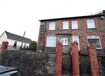 Thumbnail 3 bed end terrace house for sale in Park Terrace, Woodfieldside, Blackwood