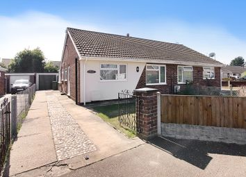 Thumbnail 2 bed semi-detached bungalow for sale in Queensway, Caister-On-Sea, Great Yarmouth