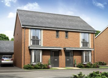 Thumbnail 3 bed semi-detached house for sale in The Houghton, Bramshall Meadows, Bramshall, Uttoxeter