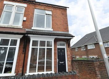 Thumbnail 2 bed end terrace house for sale in Charlotte Road, Stirchley, Birmingham