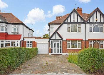 Thumbnail 3 bedroom semi-detached house for sale in Norval Road, Wembley, Middlesex