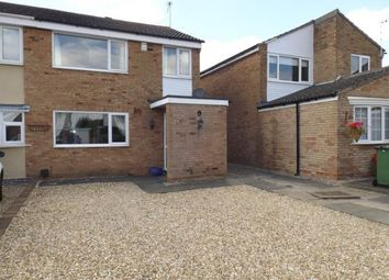 Thumbnail 3 bed semi-detached house for sale in Rosebank Road, Countesthorpe, Leicester