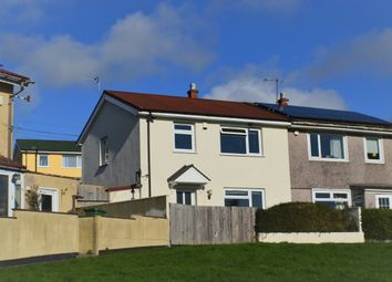 Thumbnail 3 bed semi-detached house to rent in Harewood Crescent, Plymouth