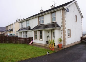 Thumbnail 3 bed semi-detached house for sale in Hillside Drive, Dunloy, Ballymena