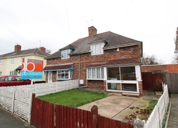 Thumbnail 3 bed semi-detached house for sale in Hughes Avenue, Bradmore, Wolverhampton