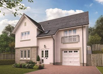 "Thumbnail 4 bedroom detached house for sale in ""The Fraser"" at Woodilee Road, Lenzie, Kirkintilloch, Glasgow"