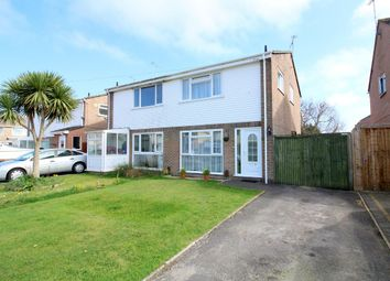 Thumbnail 3 bed semi-detached house for sale in Border Road, Upton, Poole