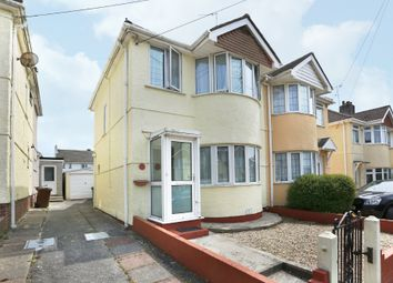 Thumbnail 2 bed semi-detached house for sale in Manor Road, Plymstock, Plymouth