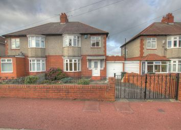 Thumbnail 3 bed semi-detached house for sale in 22 Baroness Drive, Denton Burn, Newcastle Upon Tyne