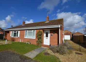 Thumbnail 2 bed semi-detached bungalow for sale in Crisp Close, Dersingham, King's Lynn
