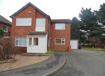 Thumbnail 4 bedroom detached house to rent in Manorford Avenue, West Bromwich
