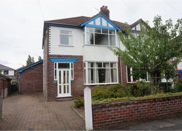 Thumbnail 3 bed semi-detached house for sale in Hulme Hall Crescent, Cheadle